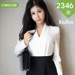 XiuRen 秀人 No.2346 奥莉 白丝袜黑短裙秘书