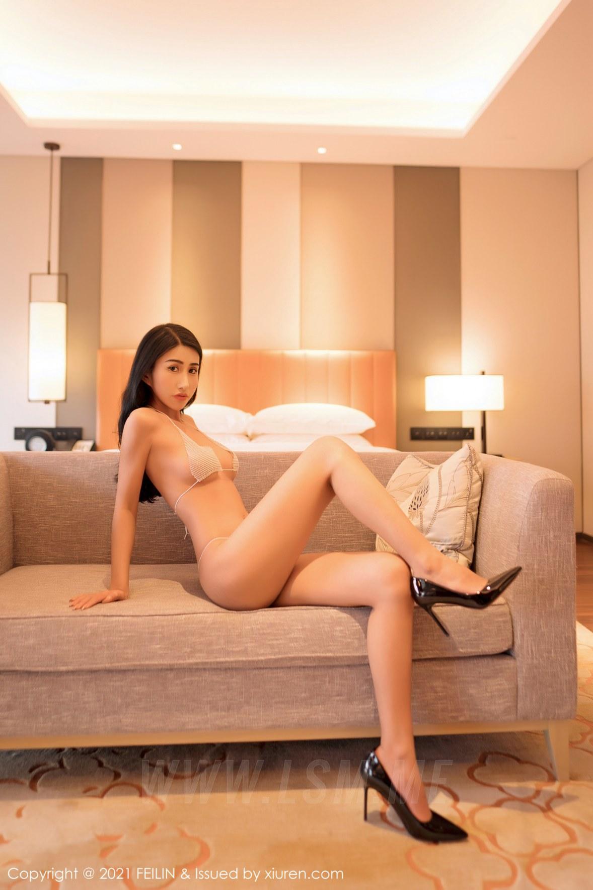 FeiLin 嗲囡囡 Vol.381 三点式内衣系列 春药儿新人模特首套写真 - 2
