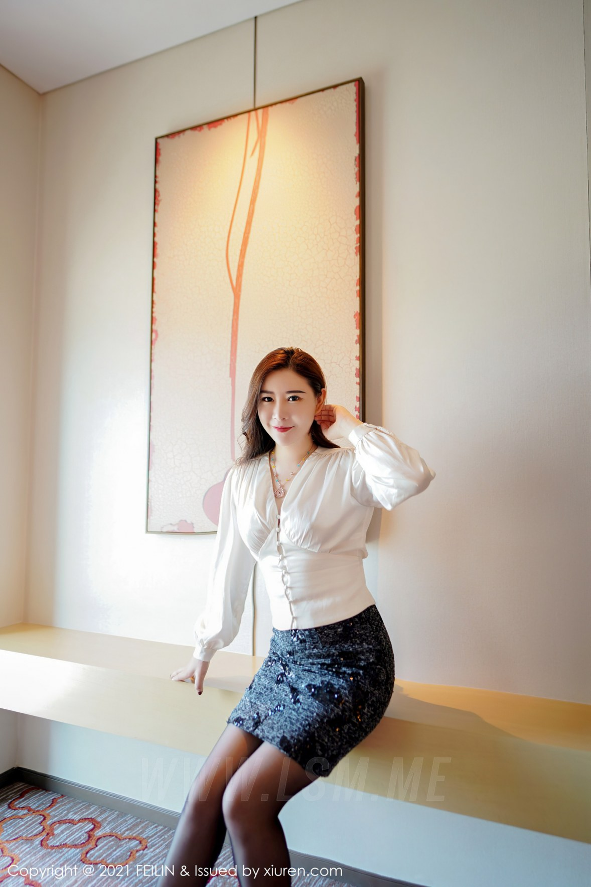 FeiLin 嗲囡囡 Vol.400 情趣服饰 王婉悠Queen 最新性感写真33 - 4
