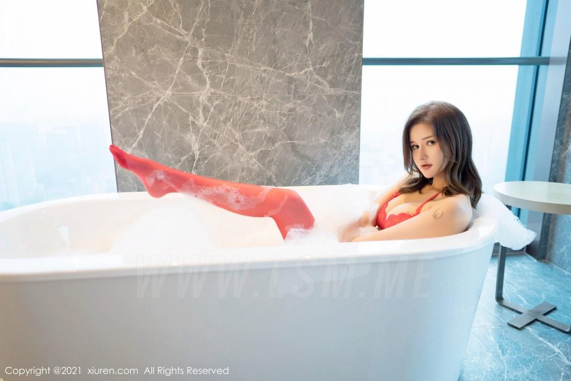403 043 04l 5400 3600 - FeiLin 嗲囡囡 Vol.403 浴室泡泡浴 文芮jeninfer 性感写真 - 嗲囡囡 -【免费在线写真】【丽人丝语】
