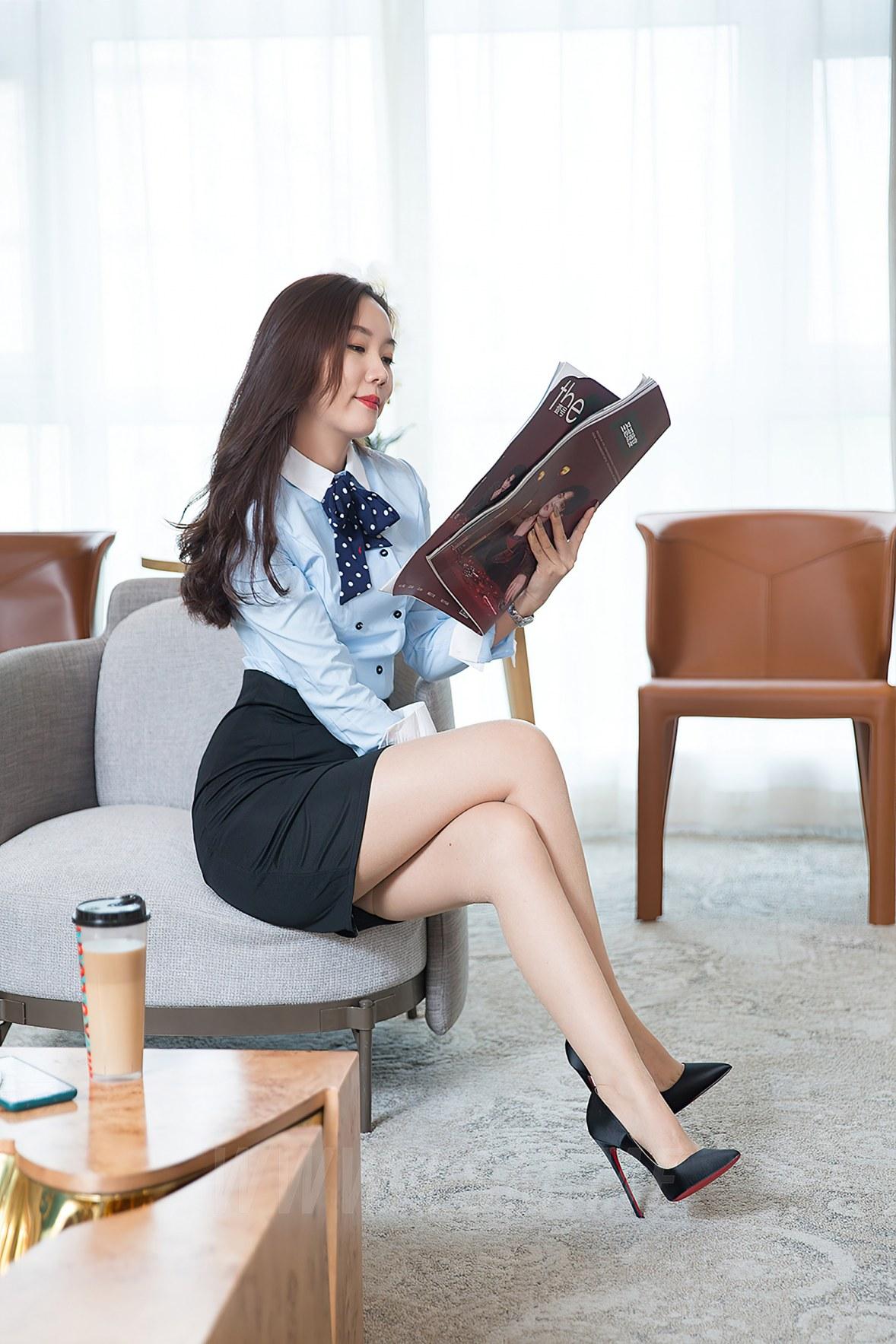 Goddes 头条女神 No.S045 静香的OL故事VIP艾静香 - 4