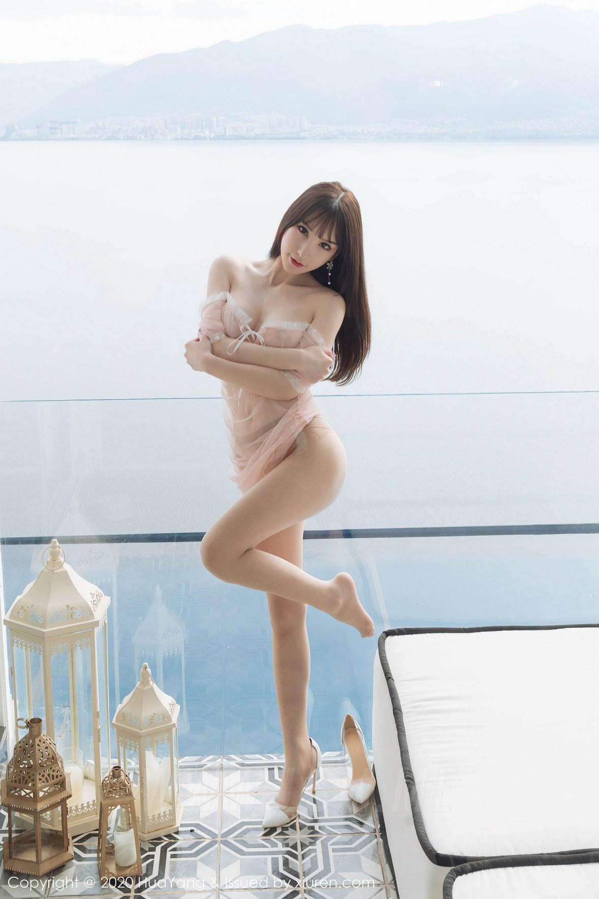 273 006 hpc 3600 5400 - HuaYang 花漾show Vol.273 周于希  透视旅拍 - 花漾show -【免费在线写真】【丽人丝语】