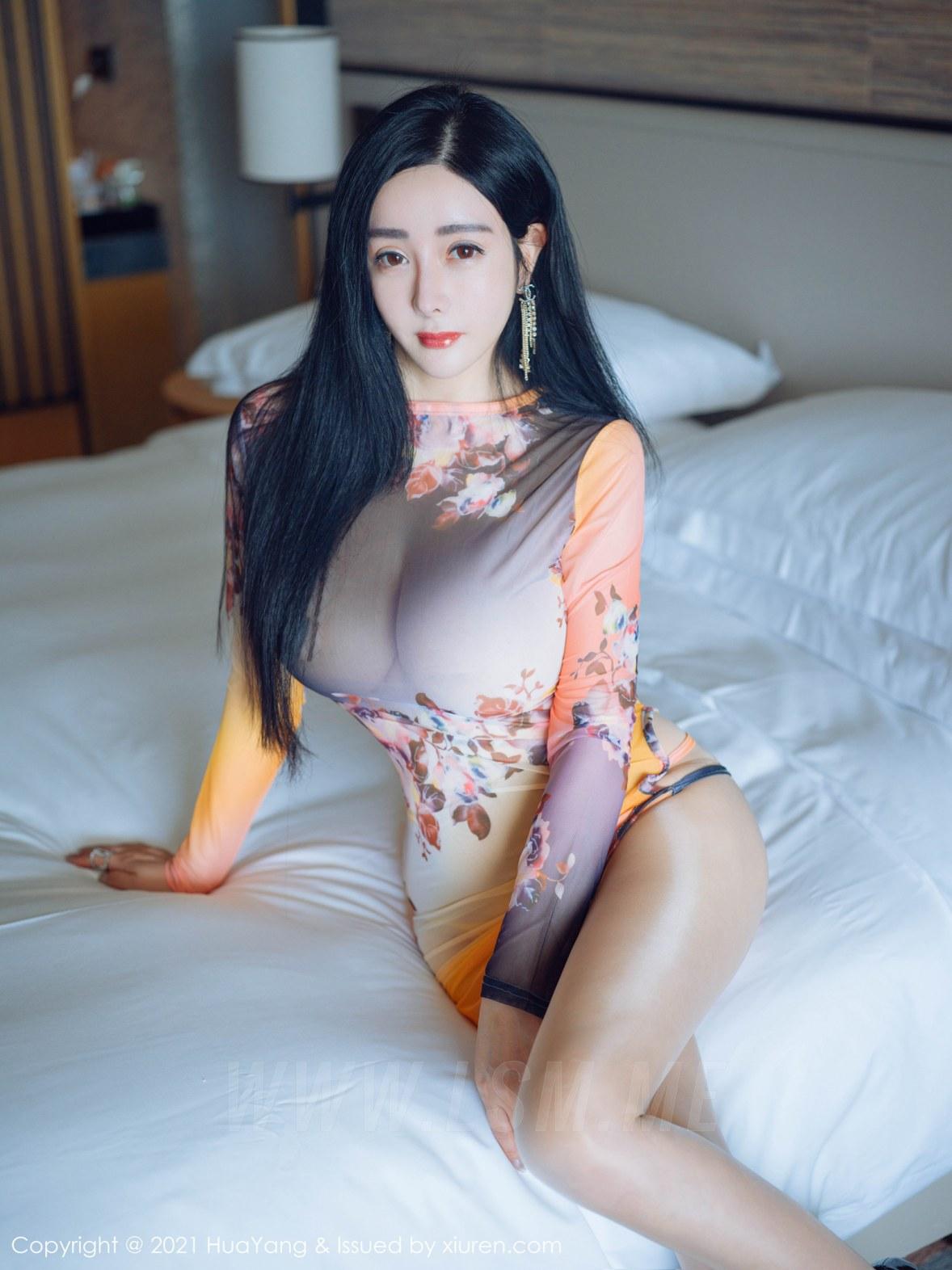 HuaYang 花漾show Vol.427 轻透情趣 允爾 三亚旅拍 - 2