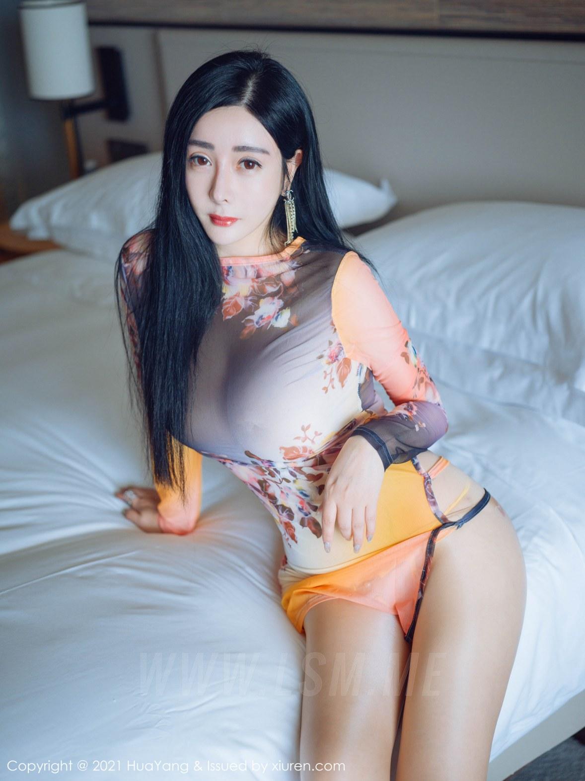 HuaYang 花漾show Vol.427 轻透情趣 允爾 三亚旅拍 - 4