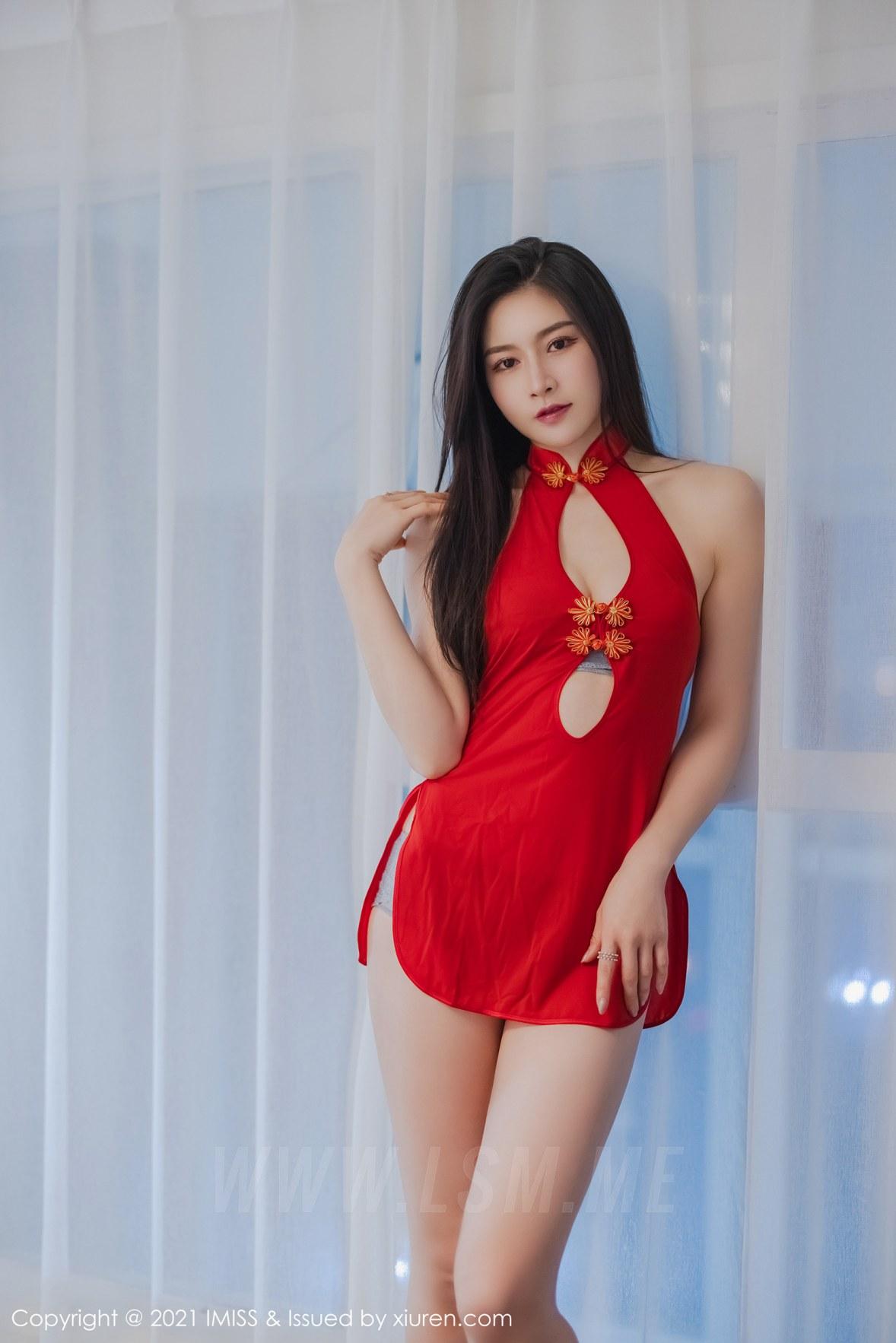 IMiss 爱蜜社 Vol.572 古典韵味 Vanessa 浪漫服装 - 4