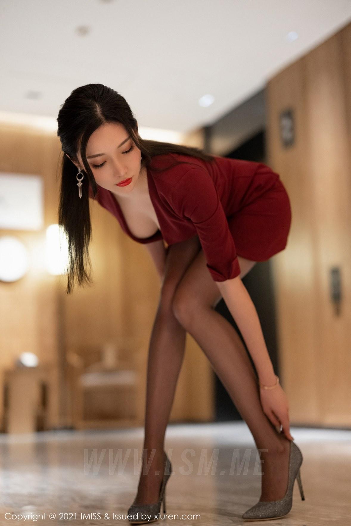 598 033 wln 3602 5400 - IMiss 爱蜜社 Vol.598 魅惑黑丝 小狐狸Kathryn 性感写真3 - 爱蜜社 -【免费在线写真】【丽人丝语】
