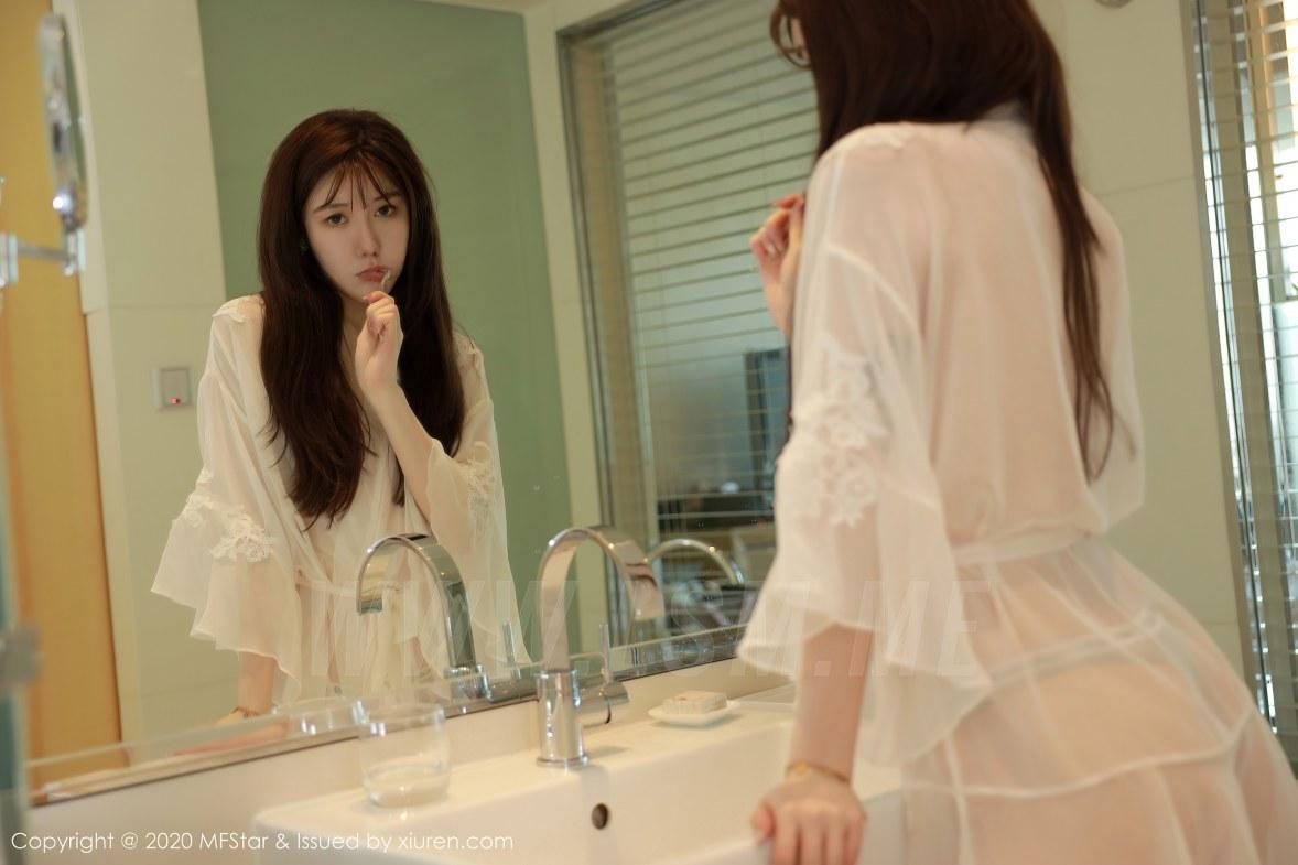 MFStar 模范学院 Vol.373 薛琪琪sandy 居家女友透视睡裙主题系列 - 2