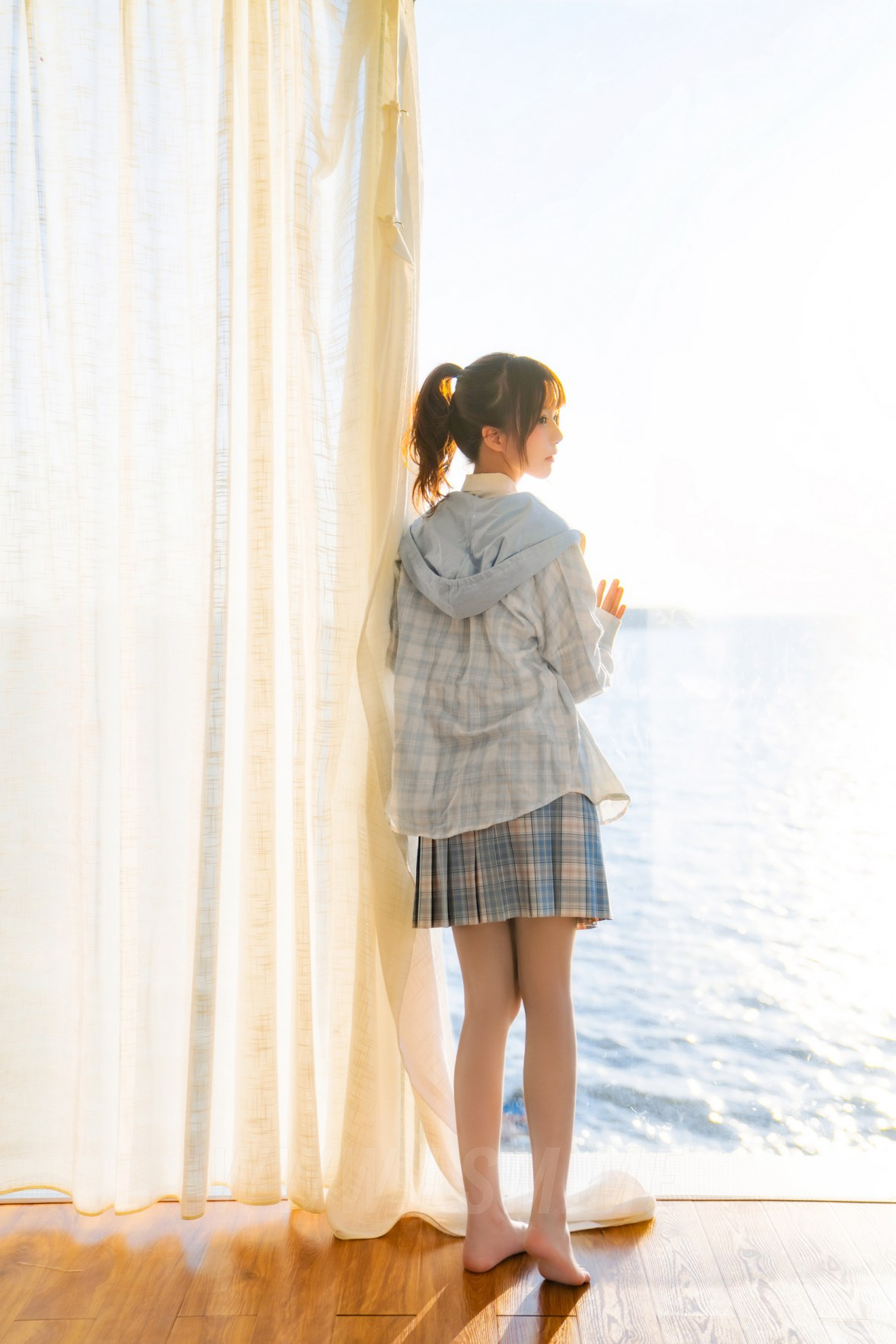 MTYH 喵糖映画 Vol.241 窗边的海 清纯学妹 - 4