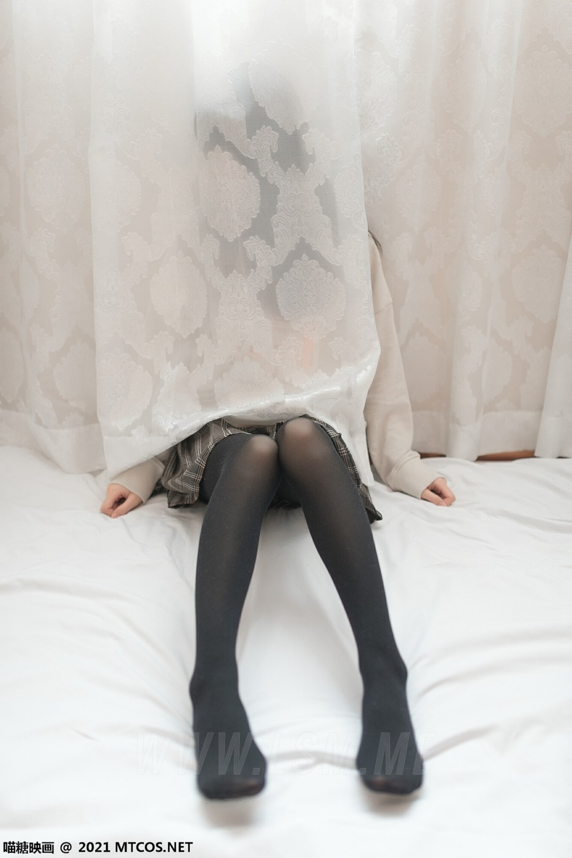 MTYH 喵糖映画 Vol.367 jk制服黑直长 - 3