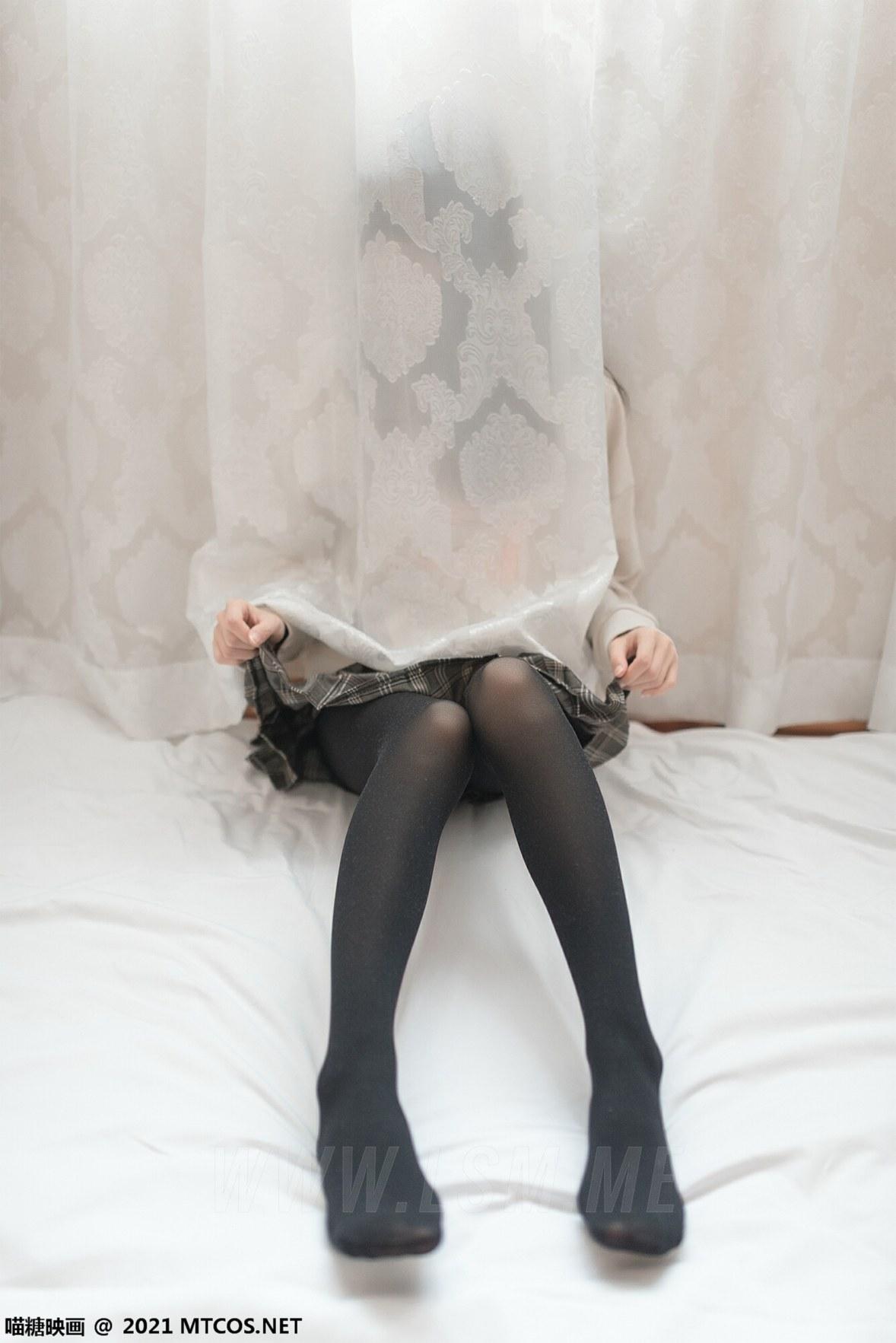 MTYH 喵糖映画 Vol.367 jk制服黑直长 - 4