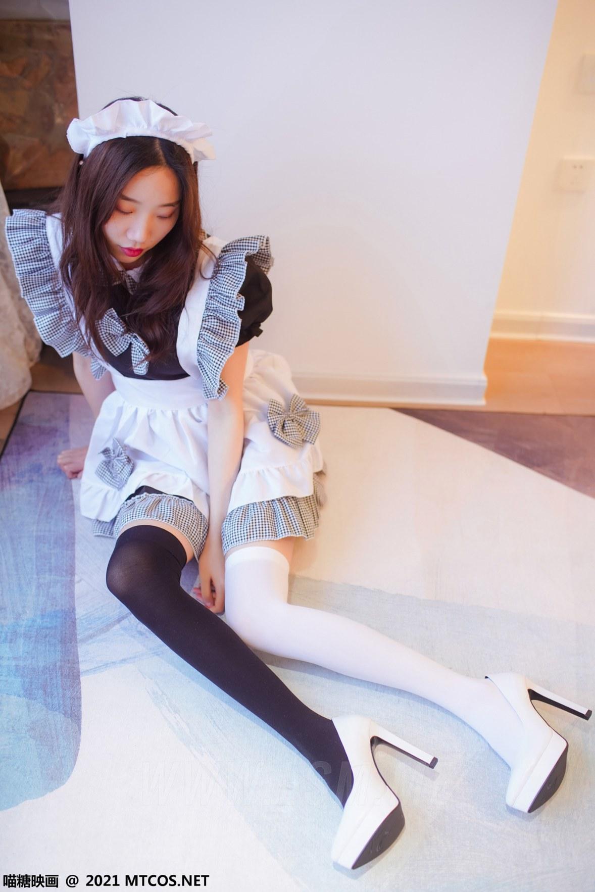 MTYH 喵糖映画 Vol.416 黑白女仆 - 1