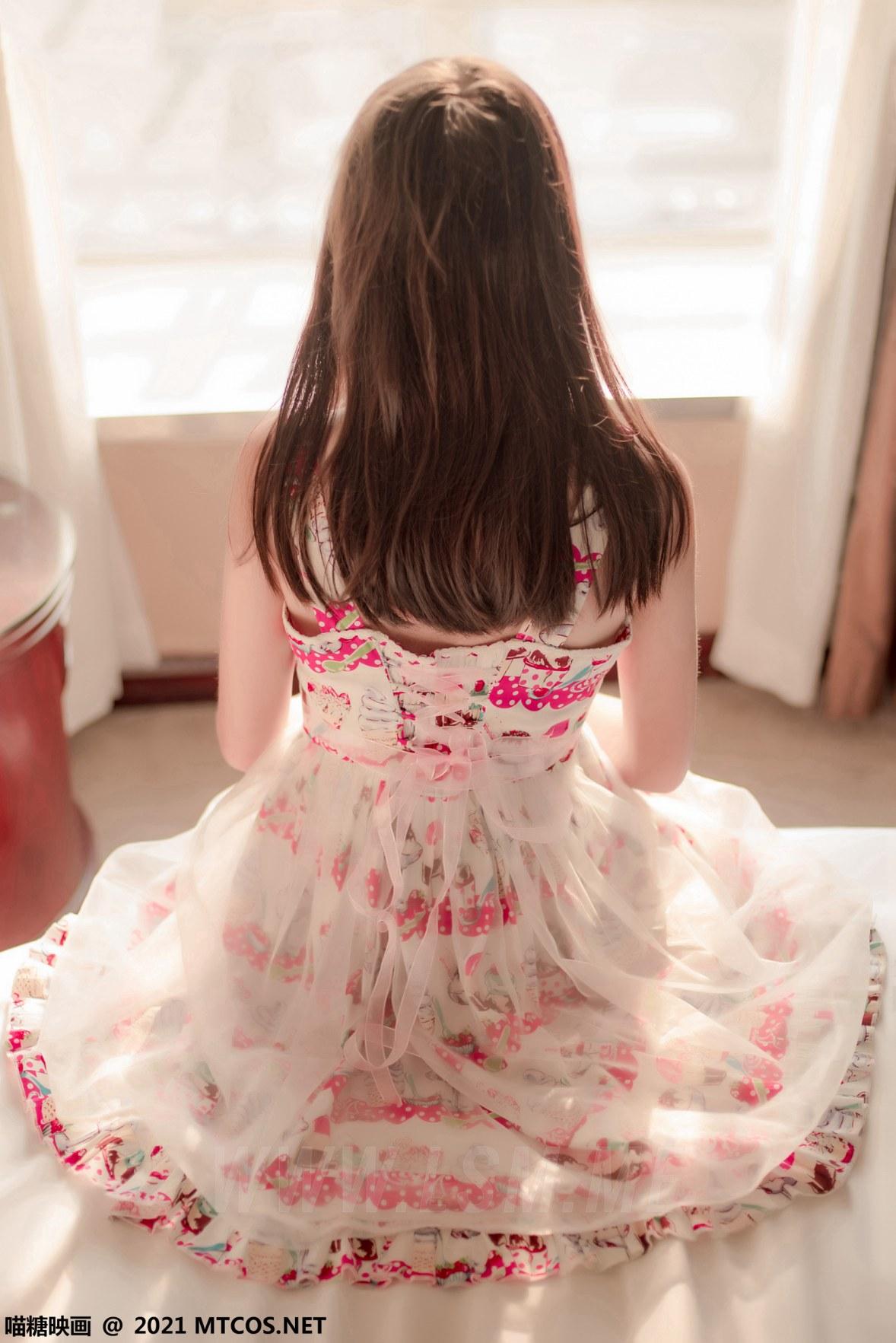 MTYH 喵糖映画 Vol.417 草莓裙子 - 1