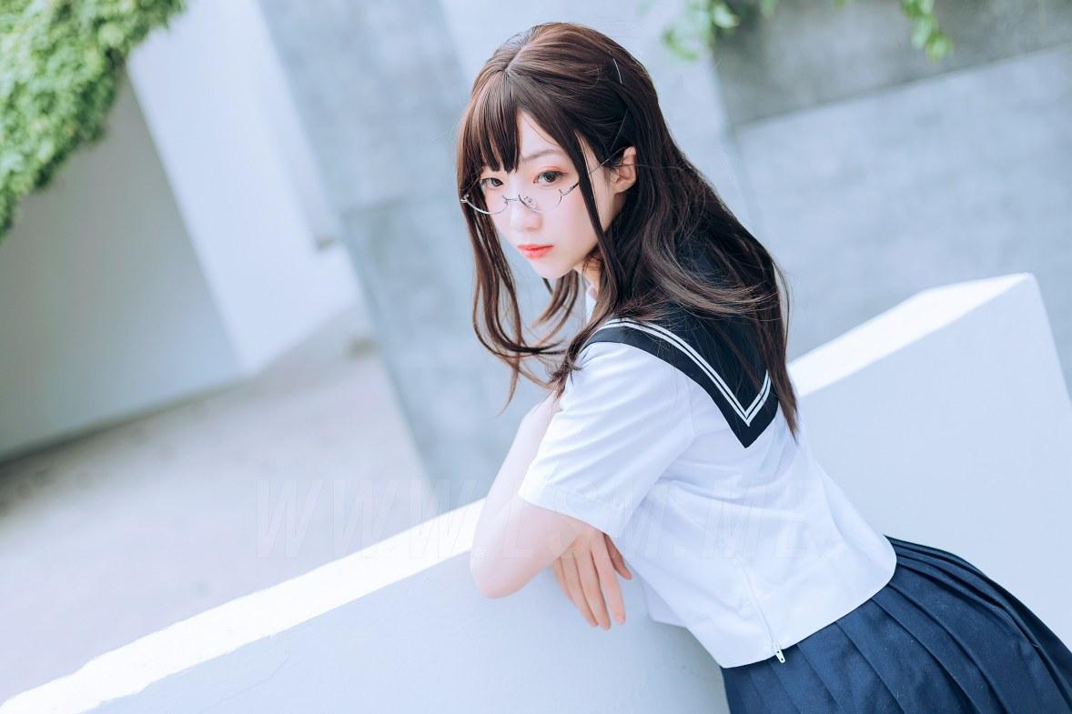 MTYH 喵糖映画 Vol.446 绿意jk制服 - 3
