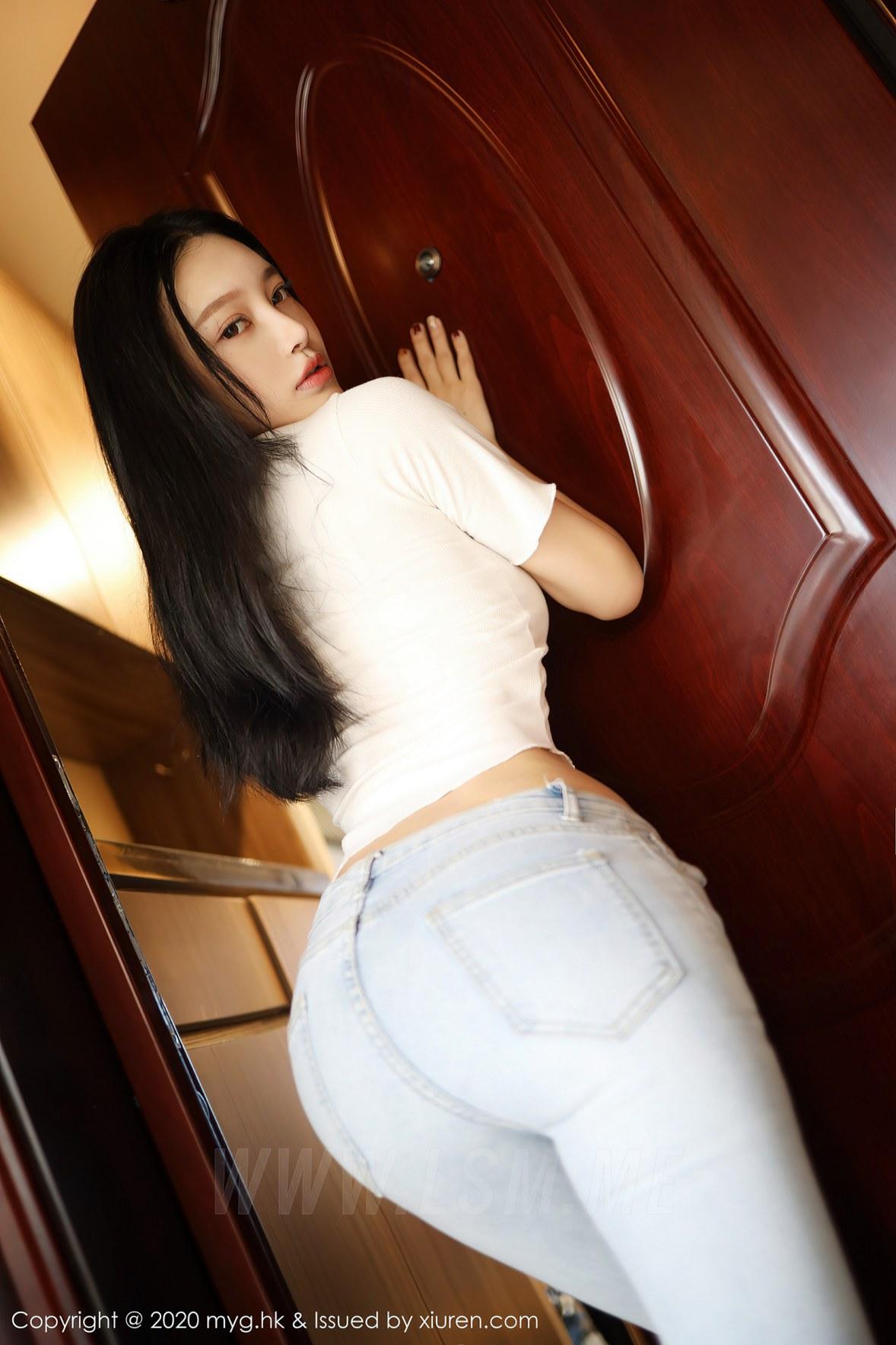 MyGirl 美媛馆 Vol.459 紧身牛仔裤 唐琪儿 - 3