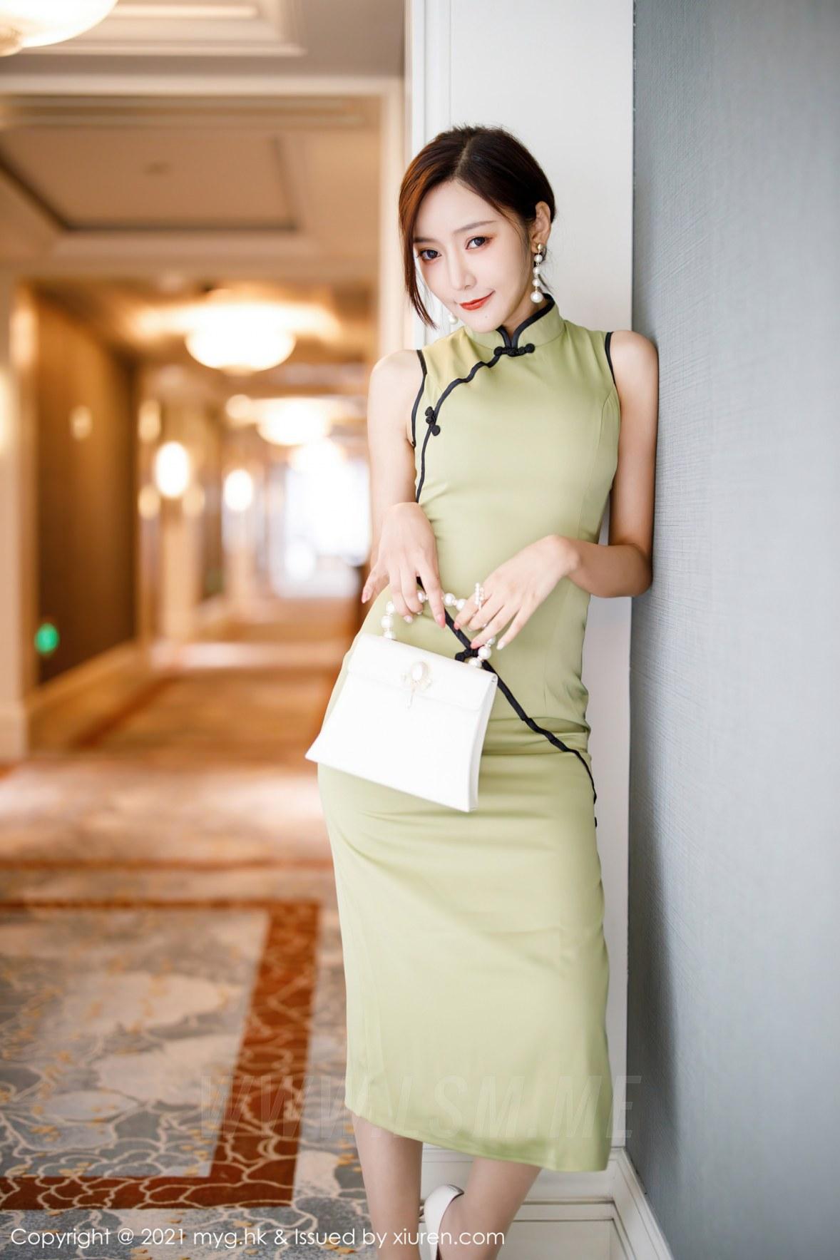 MyGirl 美媛馆 Vol.551 韵味旗袍 王馨瑶yanni 江浙沪旅拍3 - 4