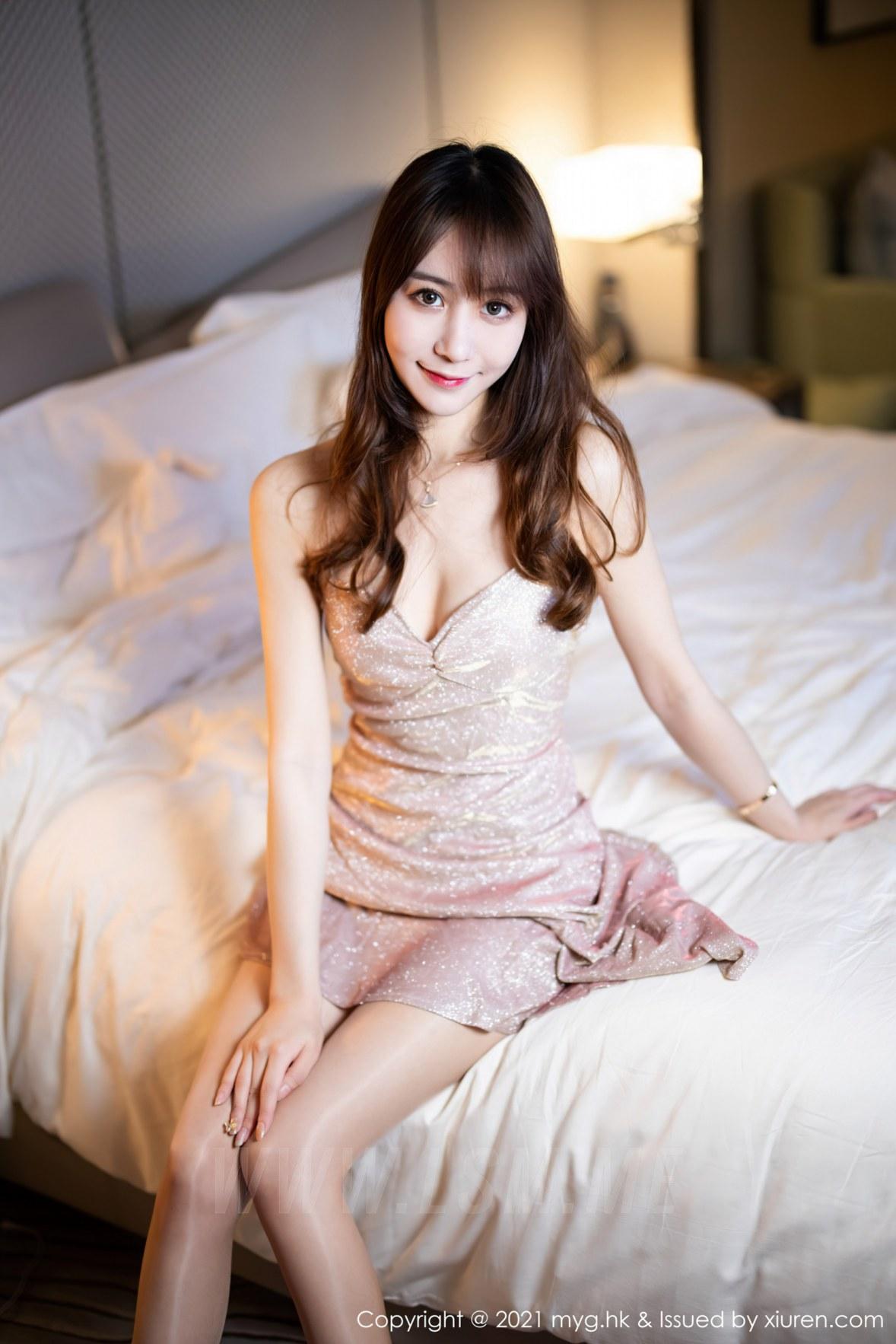 MyGirl 美媛馆 Vol.577 吊裙与丝袜 水水er 性感写真11 - 3
