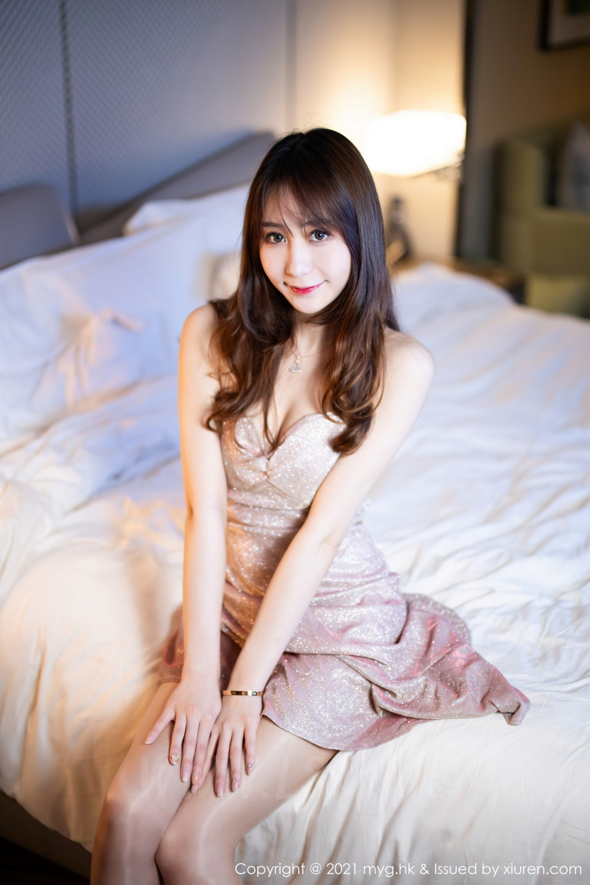 MyGirl 美媛馆 Vol.577 吊裙与丝袜 水水er 性感写真11 - 4