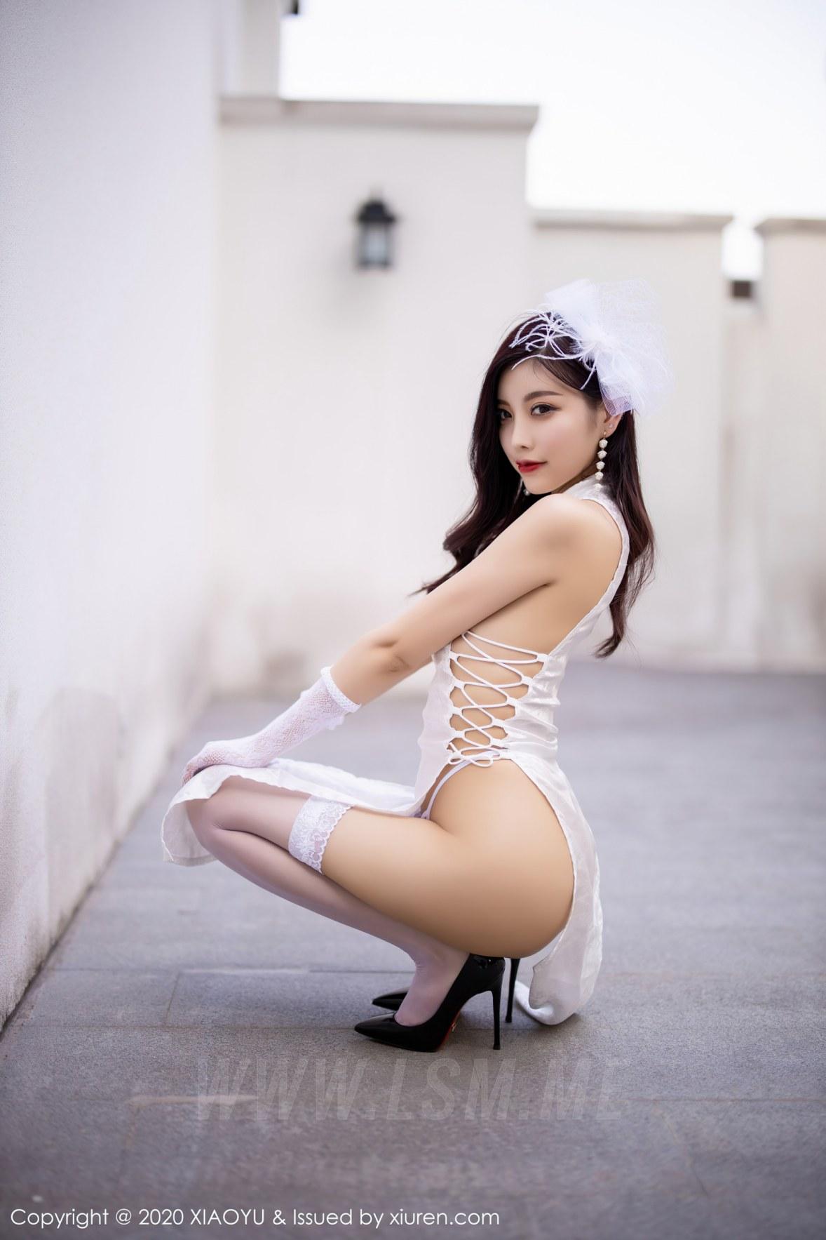 XIAOYU  语画界 Vol.403 贵妇开叉旗袍 杨晨晨 主题旅拍 - 4