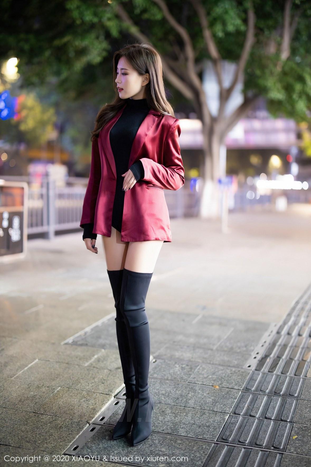 XIAOYU 语画界 Vol.415 时尚街拍魅惑私房 杨紫嫣 - 4