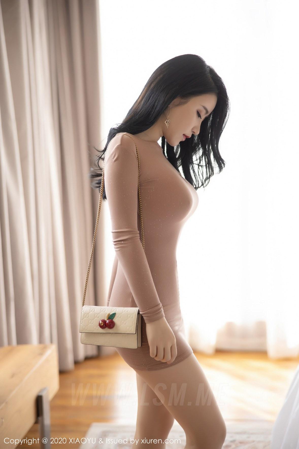 XIAOYU  语画界 Vol.441 淡粉色礼裙 绯月樱 - 1