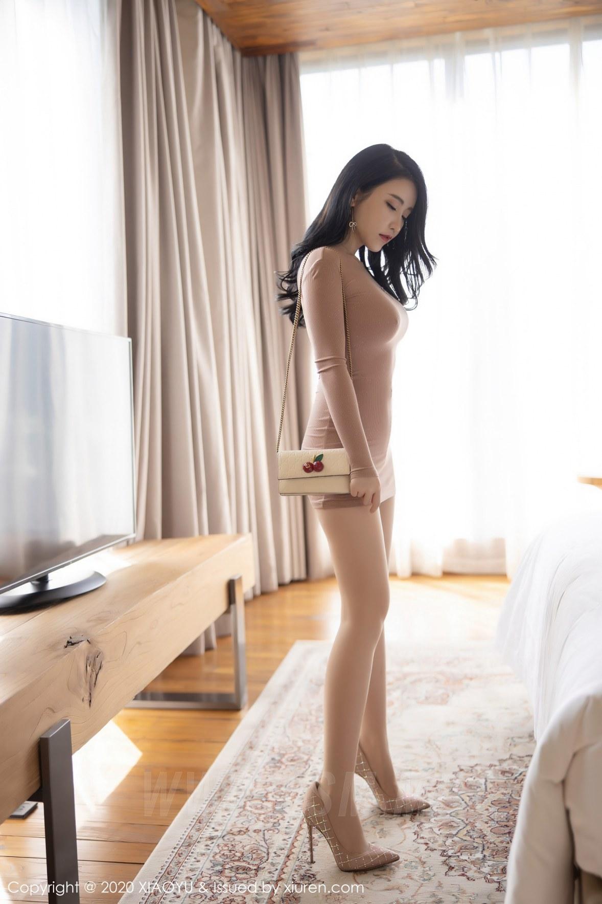 XIAOYU  语画界 Vol.441 淡粉色礼裙 绯月樱 - 3