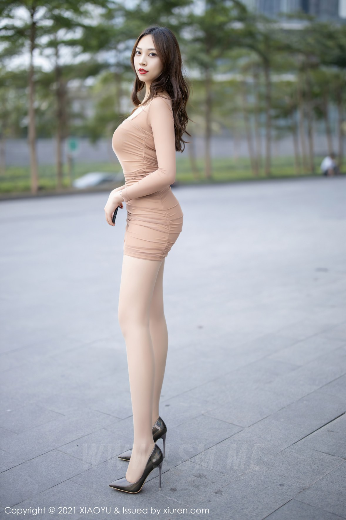 XIAOYU  语画界 Vol.471 郑颖姗 紧身美女肉色丝袜 - 3