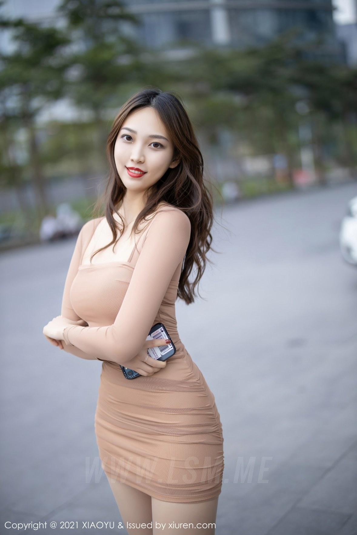 XIAOYU  语画界 Vol.471 郑颖姗 紧身美女肉色丝袜 - 4