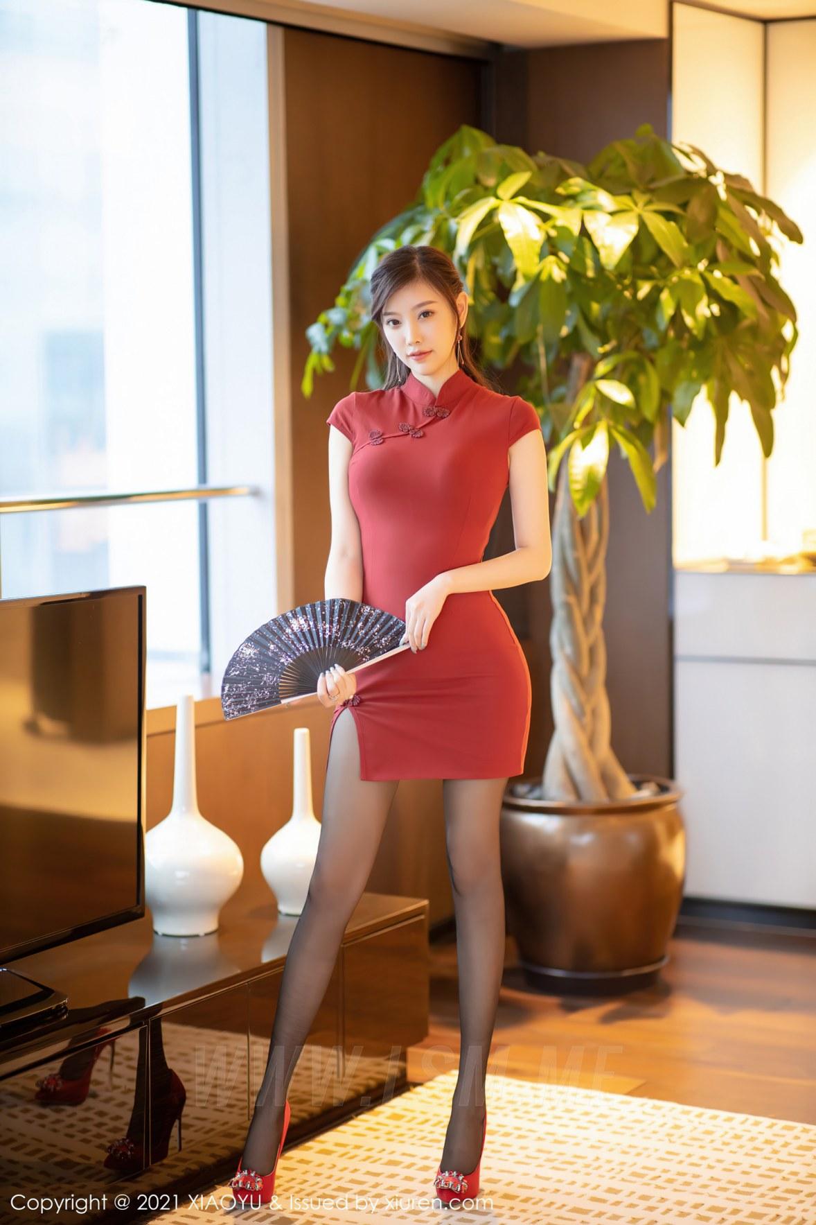 XIAOYU  语画界 Vol.472 杨晨晨 浪漫古典旗袍秋波湛湛 - 1
