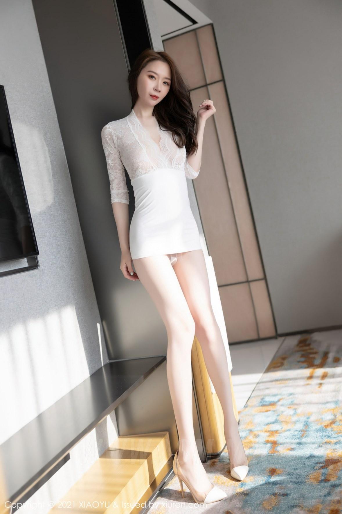 XIAOYU  语画界 Vol.615 梦心月 性感丁字裤 - 4