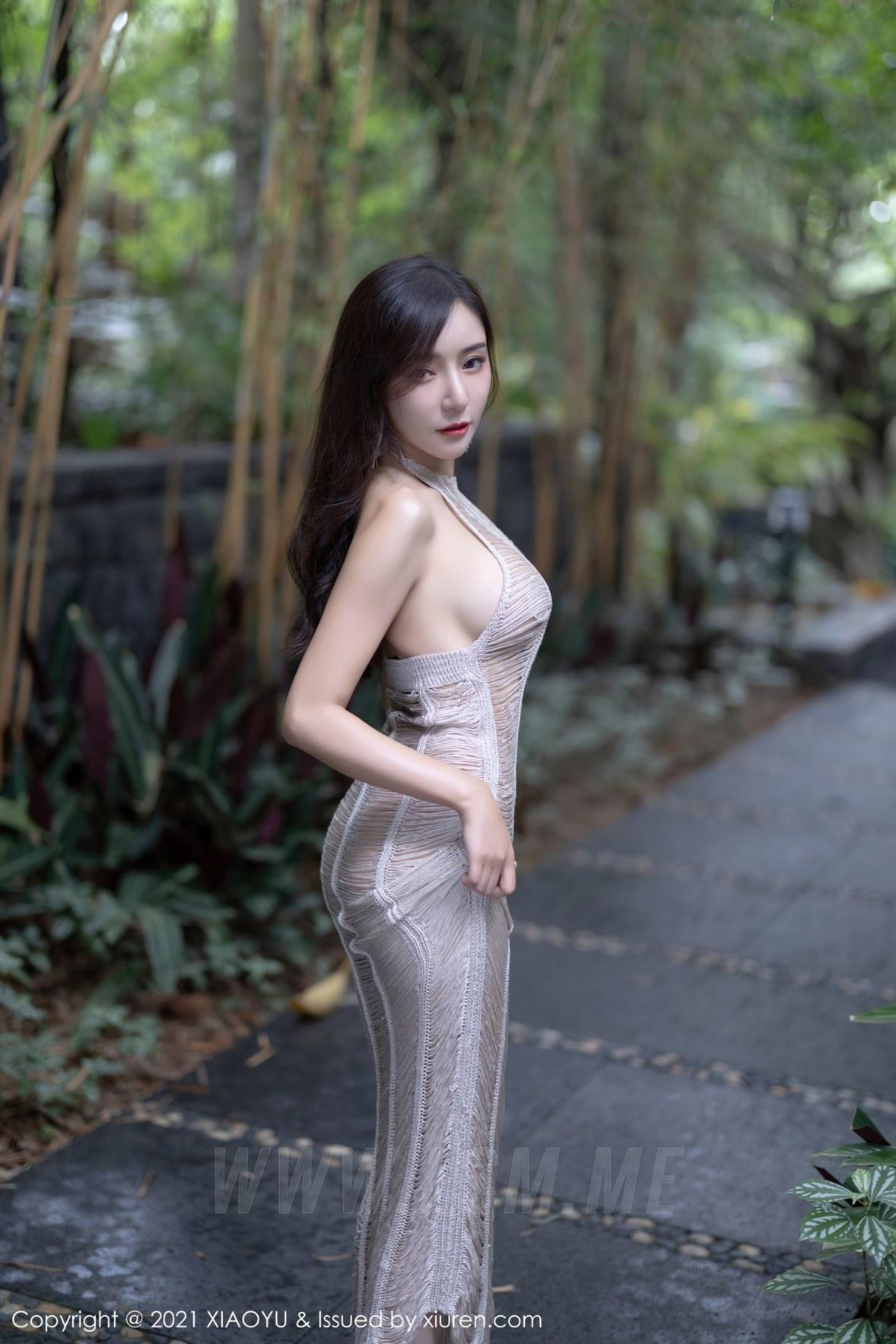 XIAOYU  语画界 Vol.617 王馨瑶yanni 玉背美乳 - 3