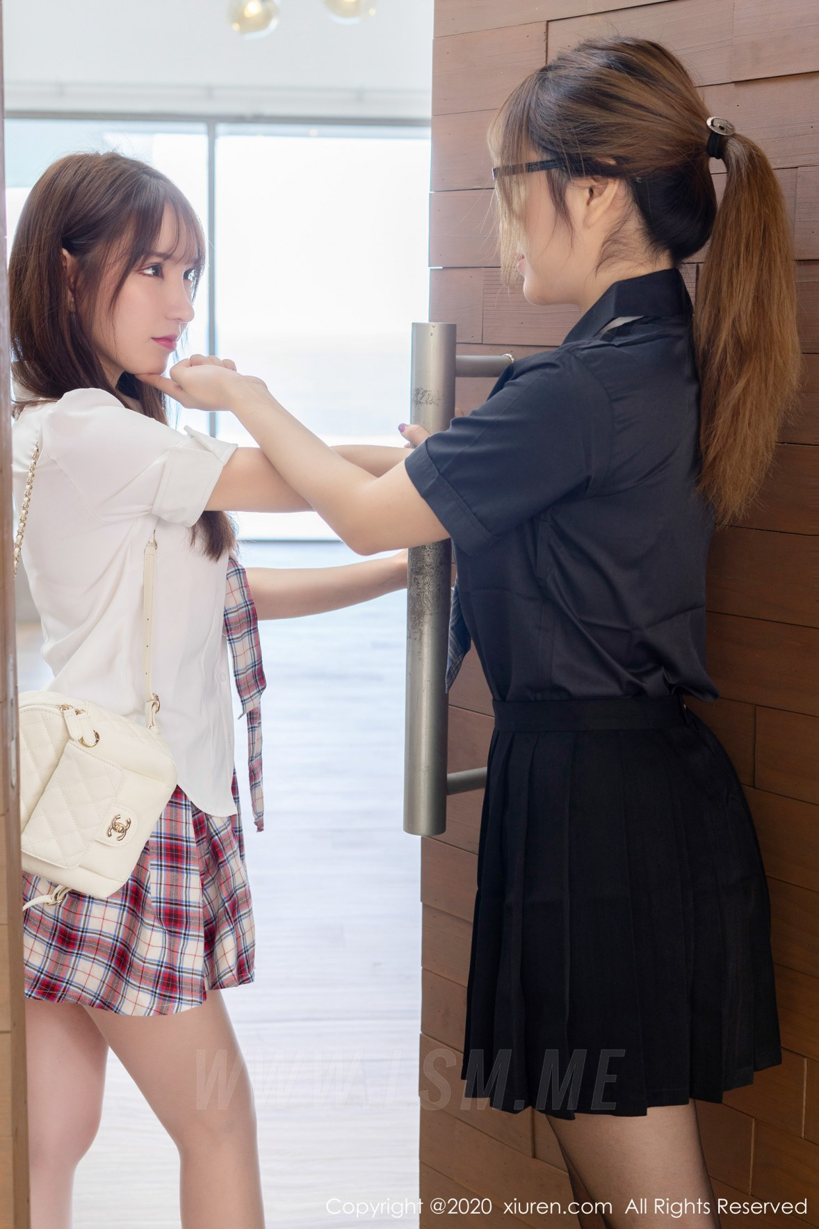 XiuRen 秀人 No.1967 合集剧情大片 王雨纯和周于希sandy 清纯学妹 - 2