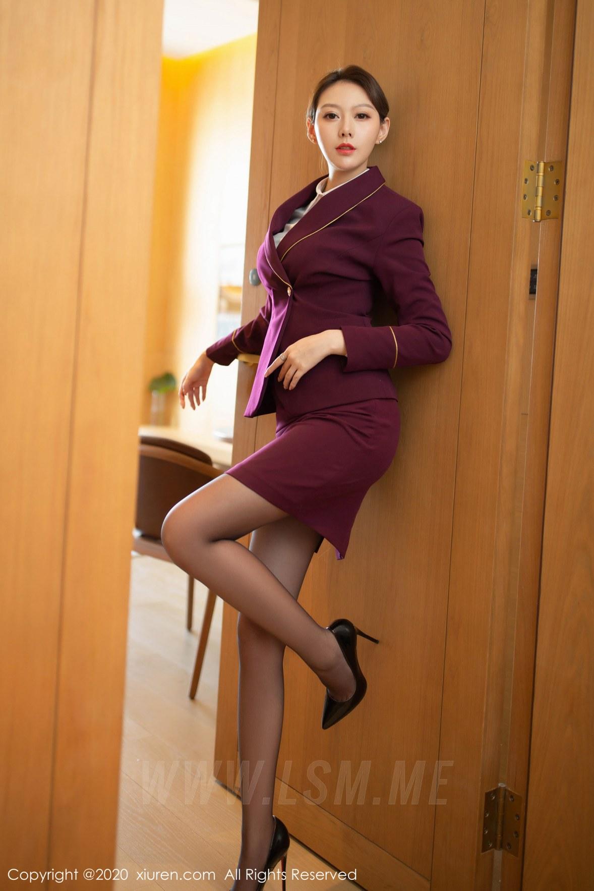 2238 019 aei 3601 5400 - XiuRen 秀人 No.2238 职业空姐制服 艺轩 性感写真 - 秀人网 -【免费在线写真】【丽人丝语】
