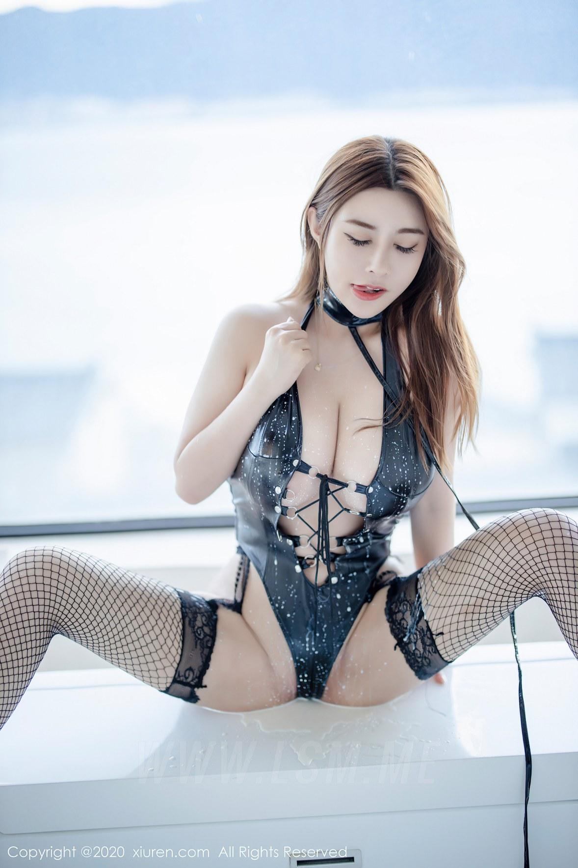 XiuRen 秀人 No.2329 旗袍 皮衣 泳衣 软软roro - 2