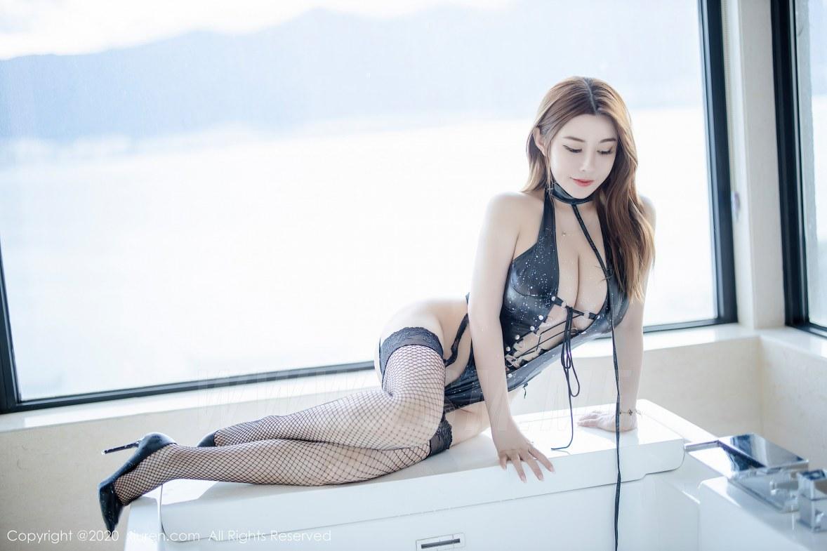 XiuRen 秀人 No.2329 旗袍 皮衣 泳衣 软软roro - 3