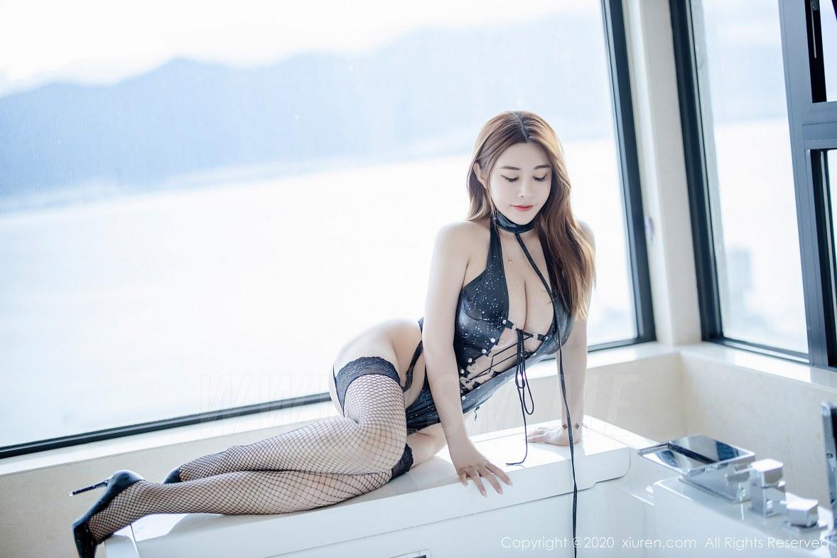 XiuRen 秀人 No.2329 旗袍 皮衣 泳衣 软软roro - 4