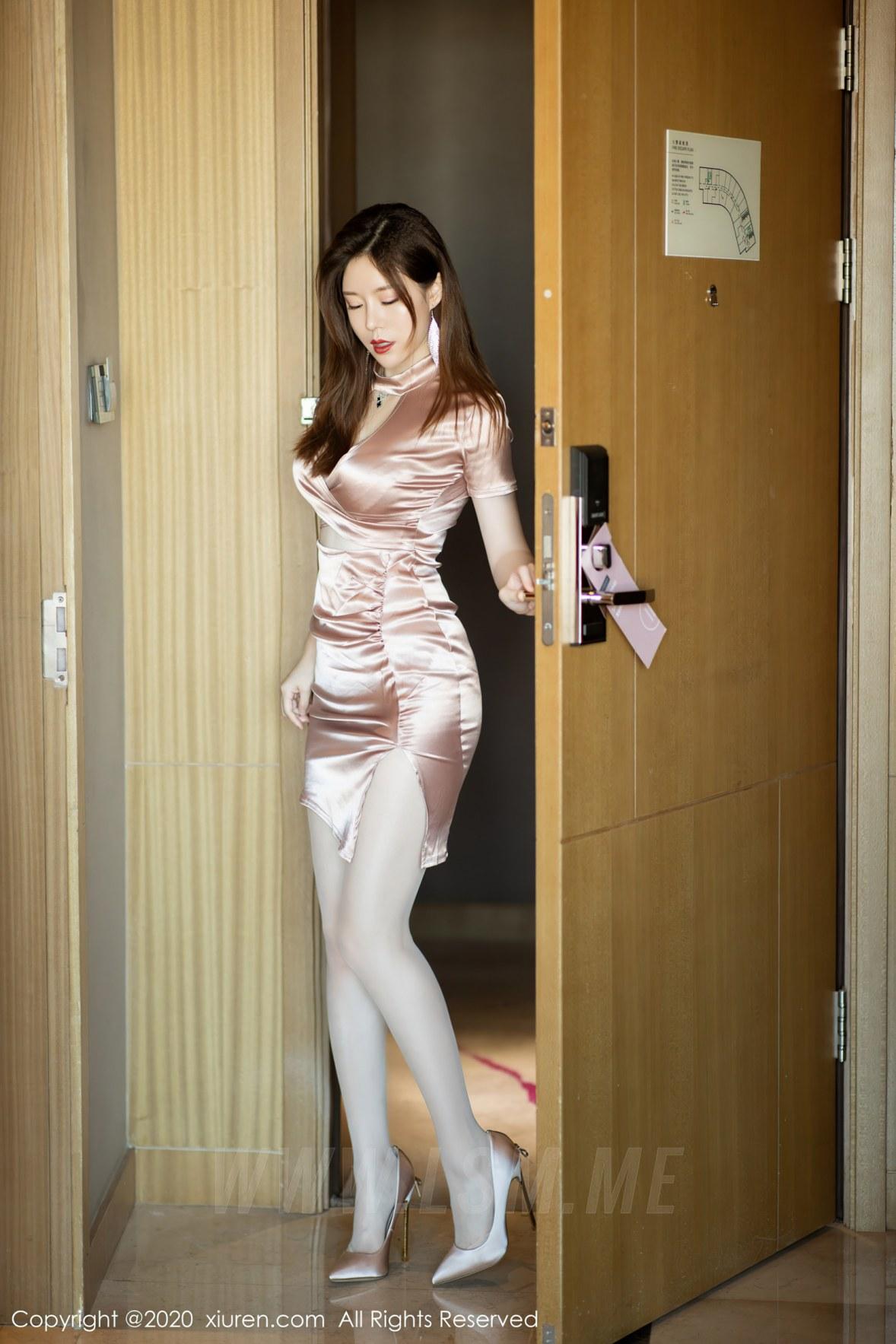 XiuRen 秀人 No.2714 熟女美腿 白茹雪abby - 3