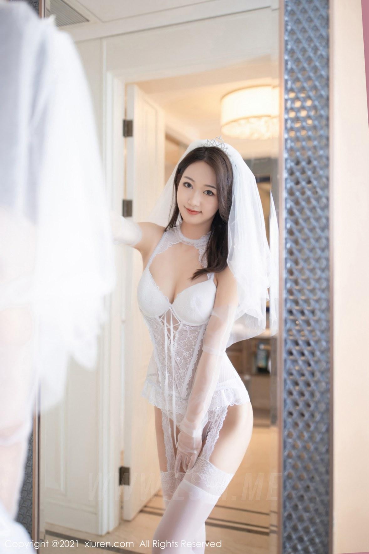 XiuRen 秀人 No.2968  唐安琪 白色婚纱主题 - 2