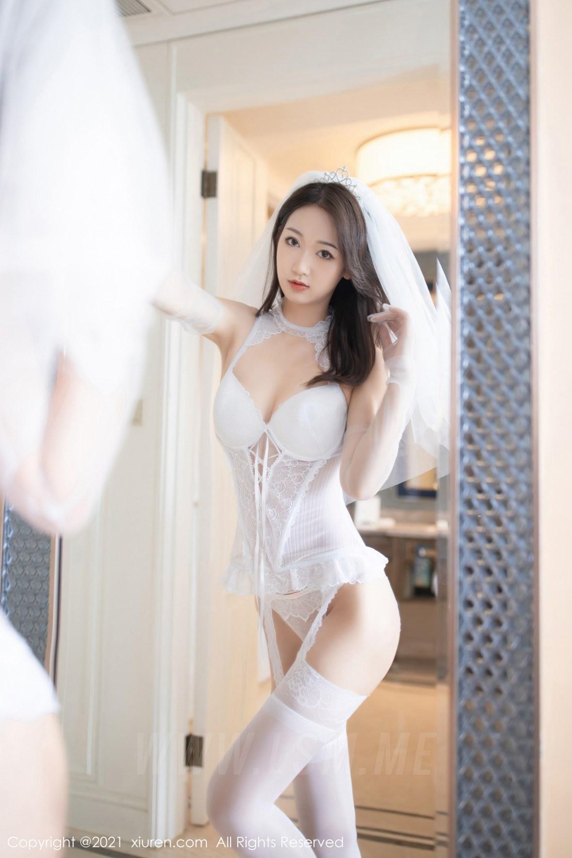 XiuRen 秀人 No.2968  唐安琪 白色婚纱主题 - 3