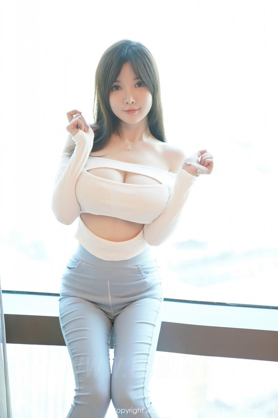 XiuRen 秀人 No.3055  拉链牛仔裤 糯美子  澳洲旅拍 - 1