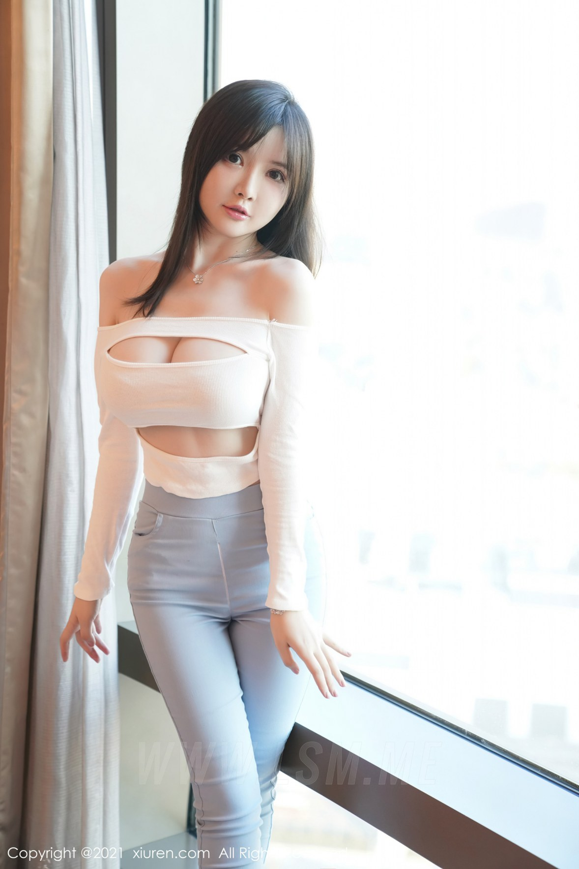 XiuRen 秀人 No.3055  拉链牛仔裤 糯美子  澳洲旅拍 - 3