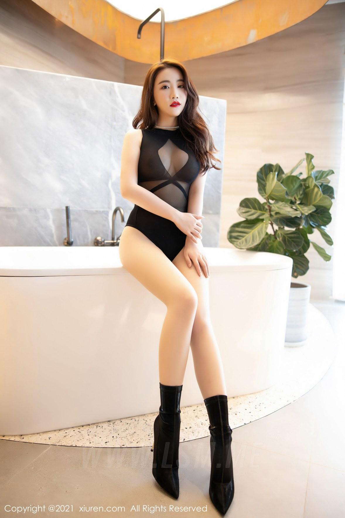 XiuRen 秀人 No.3083  绯月樱 傲人娇躯 - 2