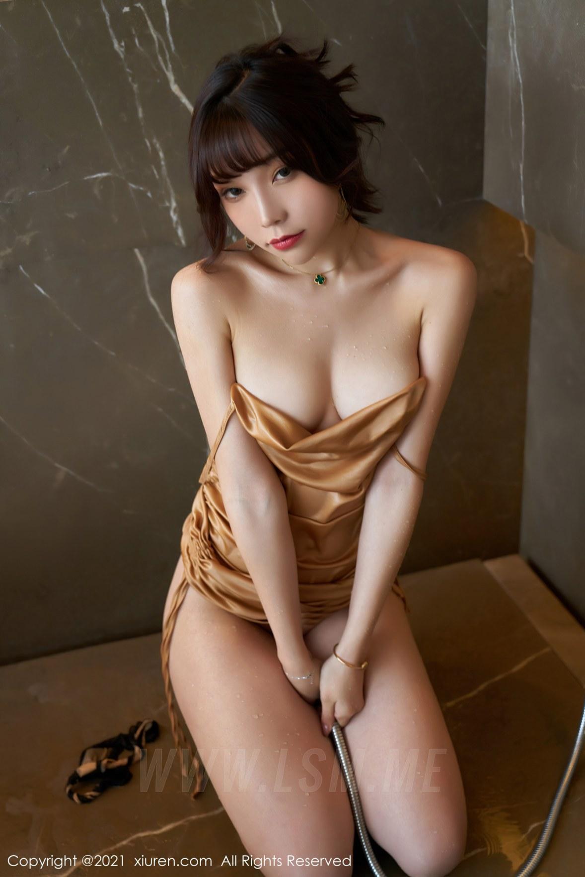 XiuRen 秀人 No.3089  湿身美乳 芝芝 婀娜娇躯 - 3