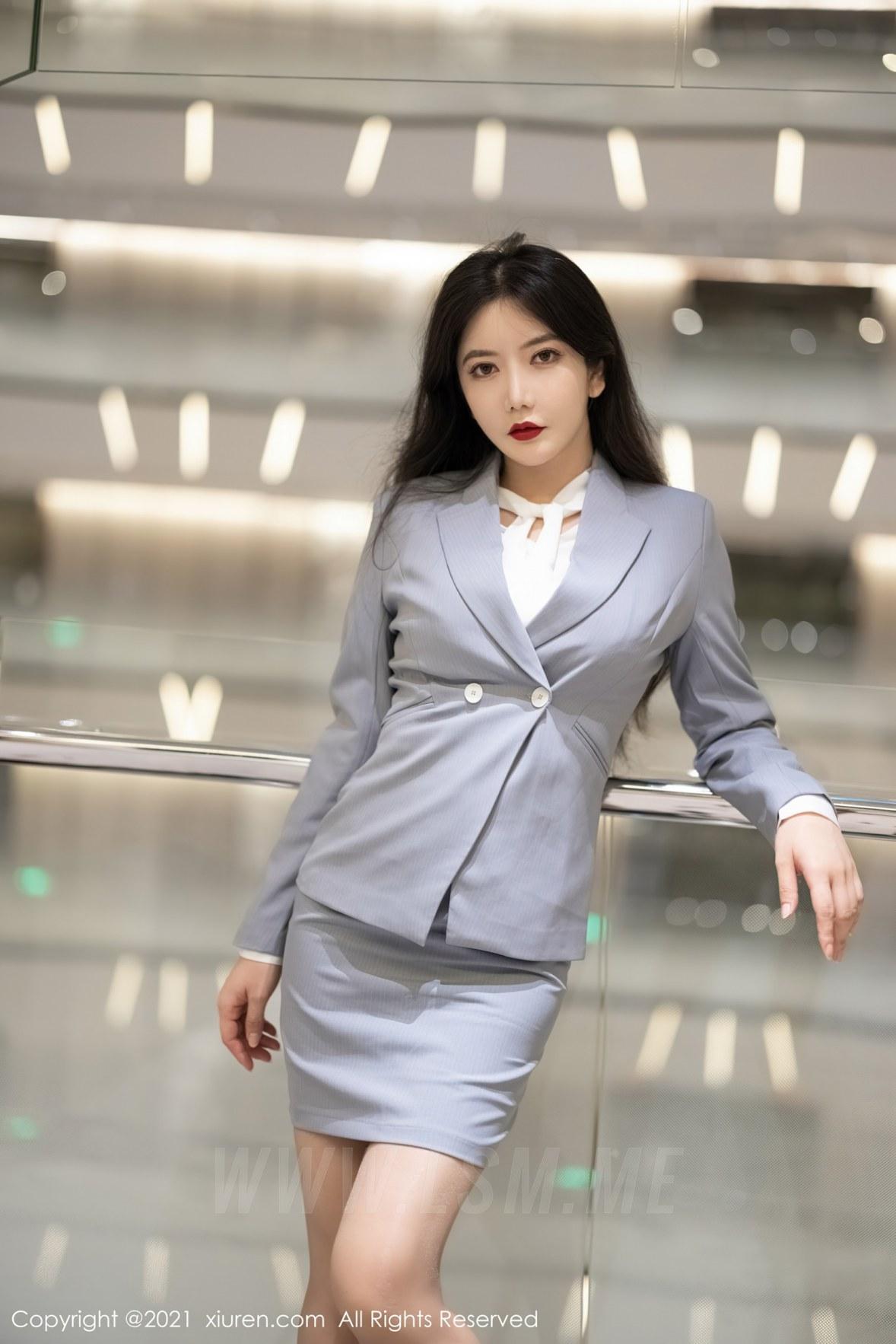 XiuRen 秀人 No.3127  职场制服ol 心妍小公主 - 1