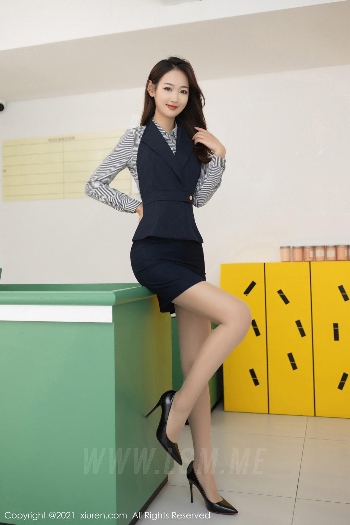 XiuRen 秀人 No.3241  推销员系列 唐安琪 - 1