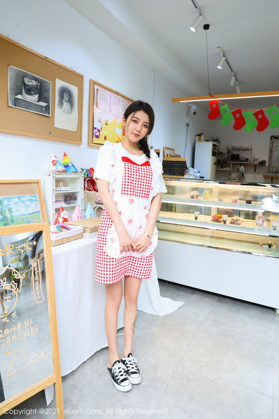 XiuRen 秀人 No.3243  蛋糕室主题系列 夏西CiCi - 1