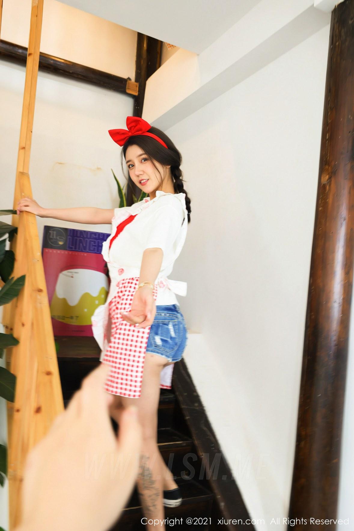 XiuRen 秀人 No.3243  蛋糕室主题系列 夏西CiCi - 4