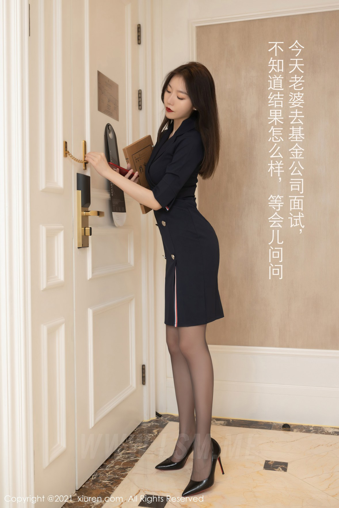 XiuRen 秀人 No.3255  秘书面试主题系列 安然Maleah 成都旅拍写真 - 1