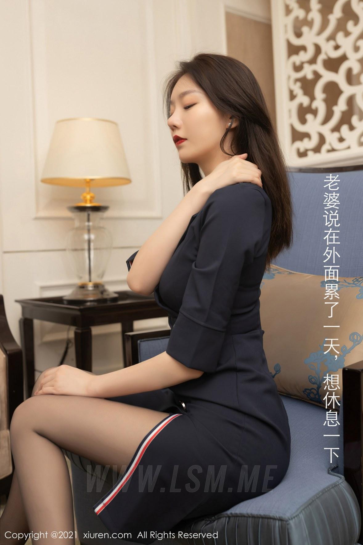 XiuRen 秀人 No.3255  秘书面试主题系列 安然Maleah 成都旅拍写真 - 3