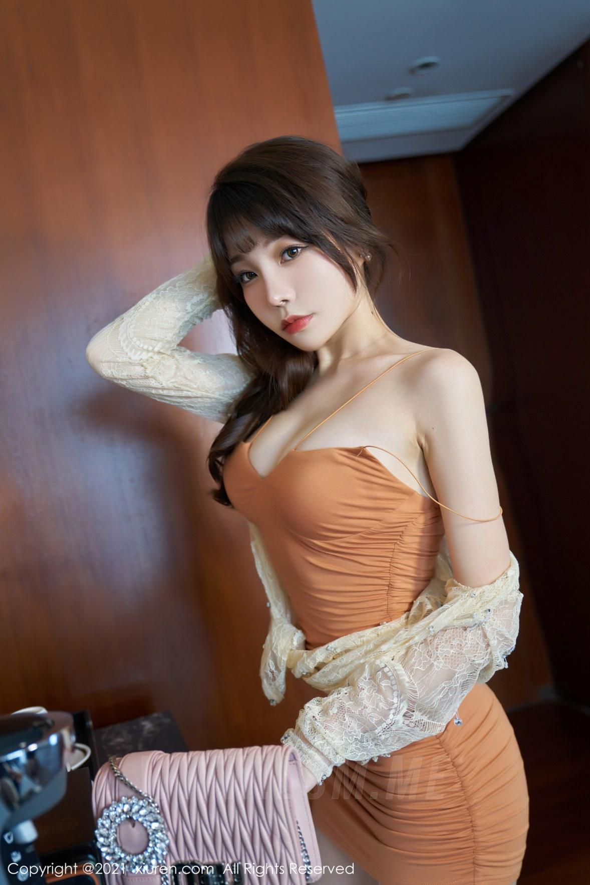 XiuRen 秀人 No.3448  魅惑吊裙 芝芝Booty 性感写真 - 2