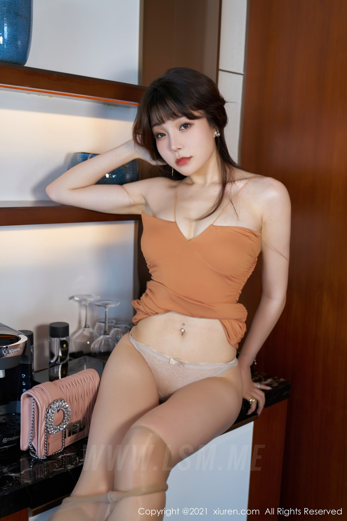XiuRen 秀人 No.3448  魅惑吊裙 芝芝Booty 性感写真 - 3